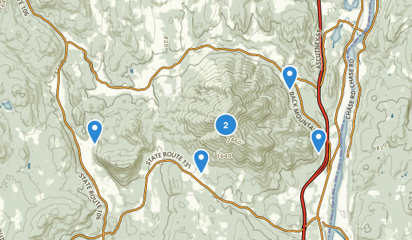 Ascutney State Park Map