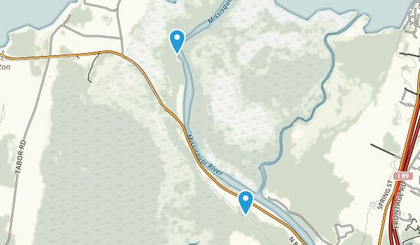 Missisquoi National Wildlife Refuge Map