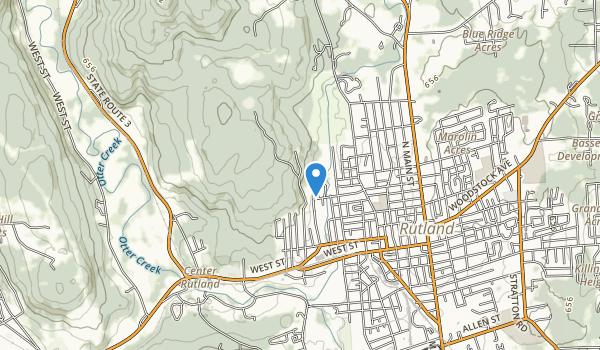 Pine Hill Park Map