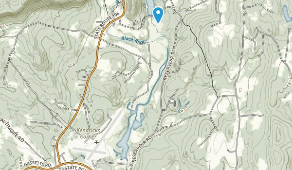 Springfield Nature Area Map