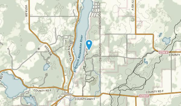 Long Lake Recreation Area Map