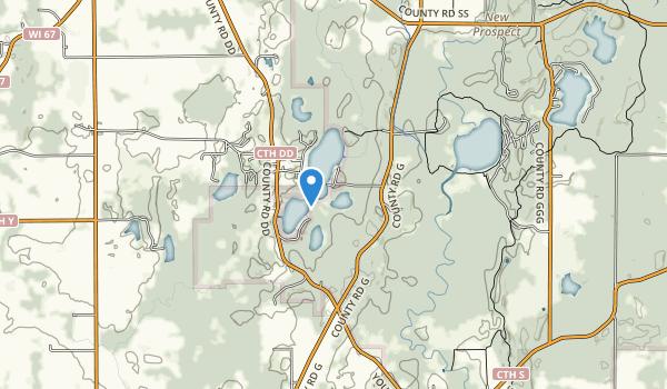 Spring Lake State Natural Area Map