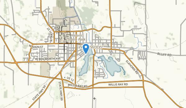 Trippe Lake Park Map