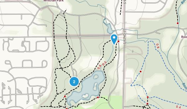 Whitnall Park Map