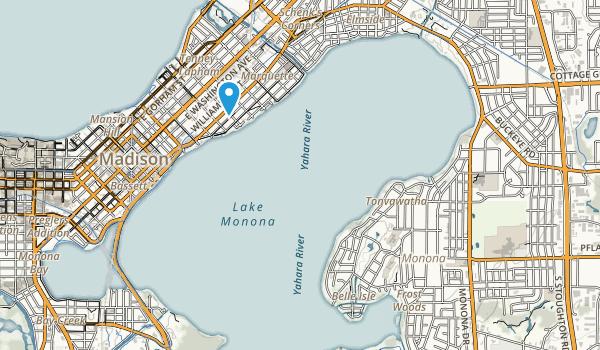 Winnequah Park Map