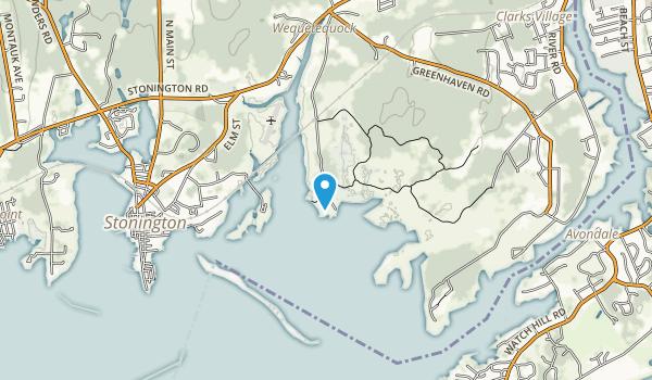 Barn Island Wildlife Management Area Map