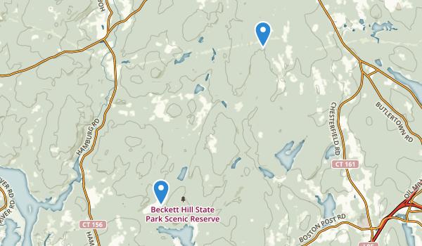 Beckett Hill State Park Reserve Map