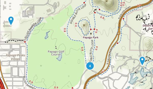 Papago Park Map