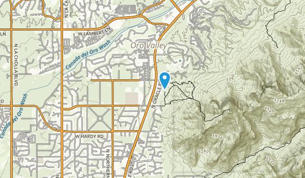 Dennis Weaver Park Map