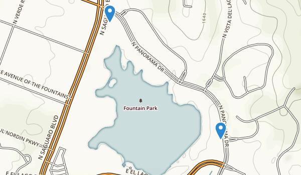 Fountain Park Map