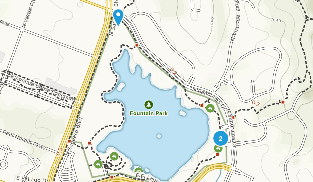 Fountain Park Map
