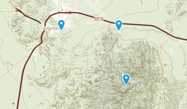 Hualapai Mountain County Park Map