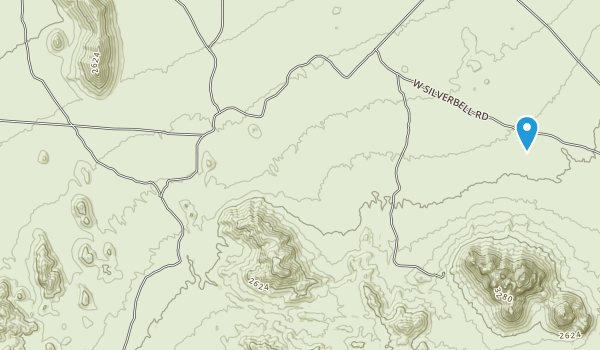 Ironwood Forest National Monument Map