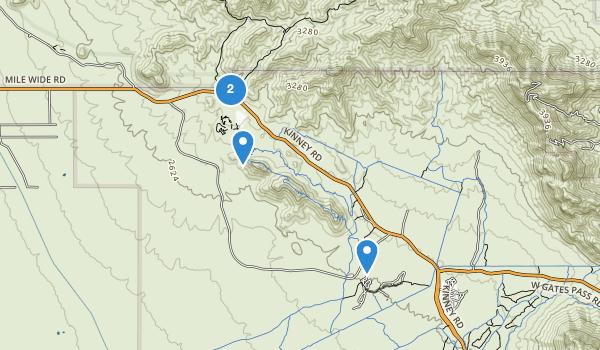 trail locations for Juan Santa Cruz Picnic Area