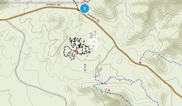 Juan Santa Cruz Picnic Area Map