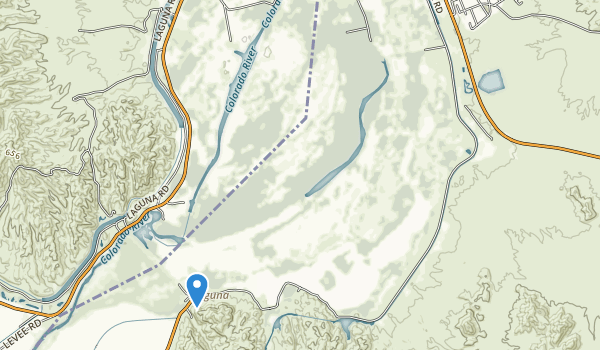 Mittry Lake Wildlife Area Map