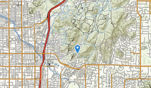 Phoenix Mountains Park Map