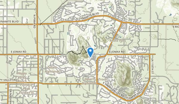 Pinnacle Peak Park Map
