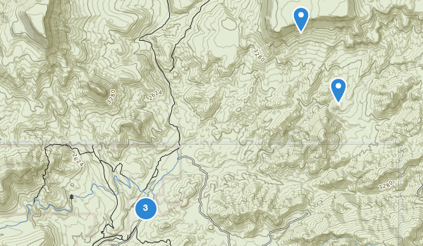 trail locations for Spur Cross Ranch Conservation Area