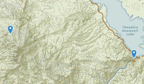 Three Bar Wildlife Enclosure Map