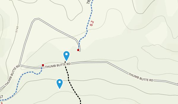 Thumb Butte Park Map