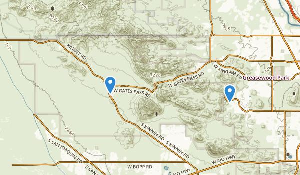 Tucson Mountain County Park Map