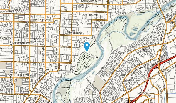 Ancil Hoffman Park Map