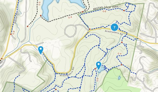 Arastradero Preserve Map