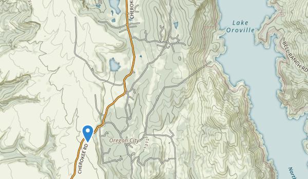 Bloomer Primitive Recreation Area Map