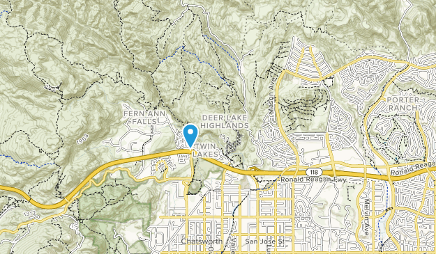 Browns Creek Park Map