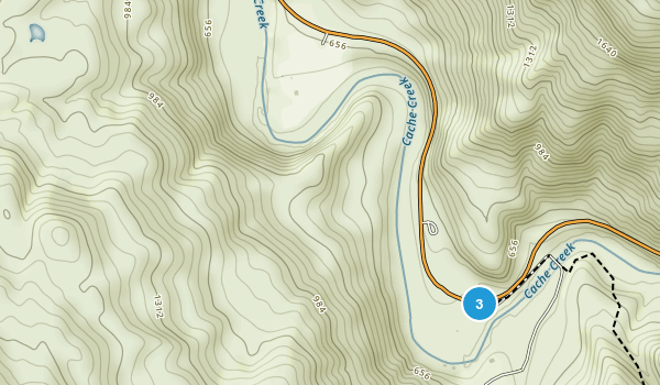 Cache Creek Regional Park Map