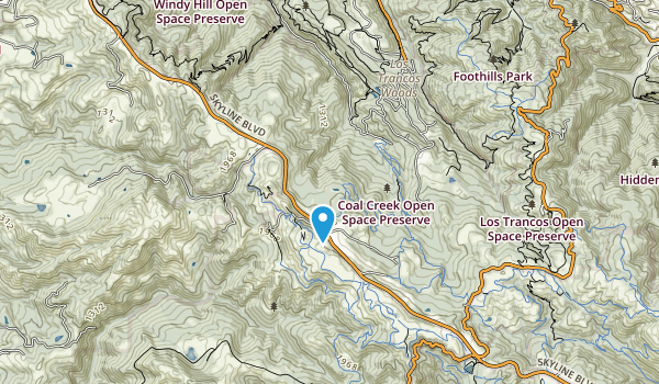 Coal Creek Open Space Map