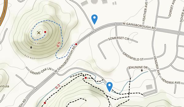 trail locations for Conejo Community Park