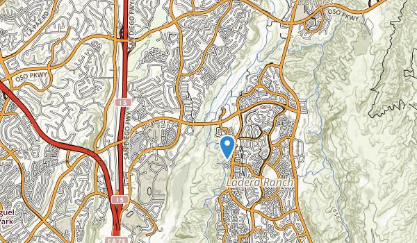trail locations for Cordova Park