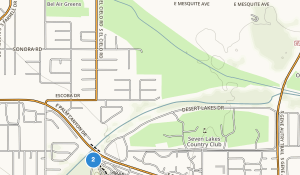 trail locations for Demuth Park
