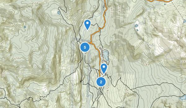 Devils Postpile National Monument Map