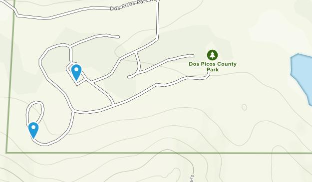 Dos Picos County Park Map