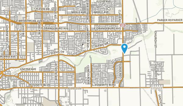 Dry Creek Regional Park Map