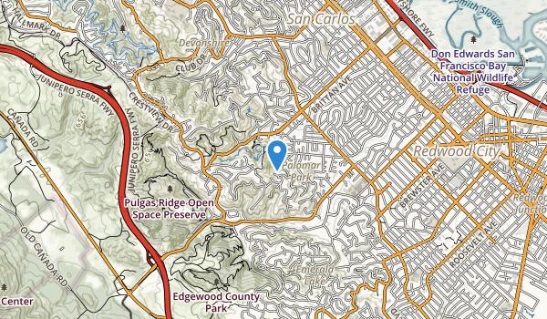 Eaton Park Map