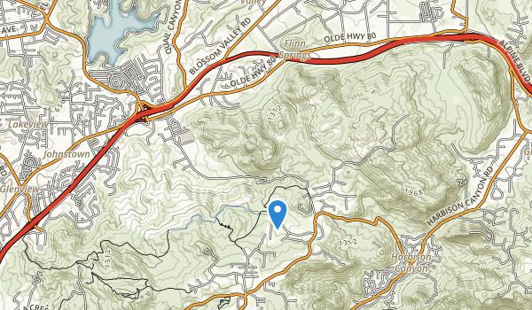 Iris Canyon Greenbelt Map