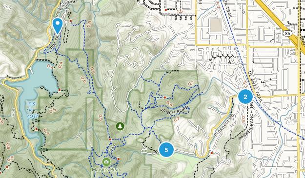 Fremont Older Open Space Preserve Map