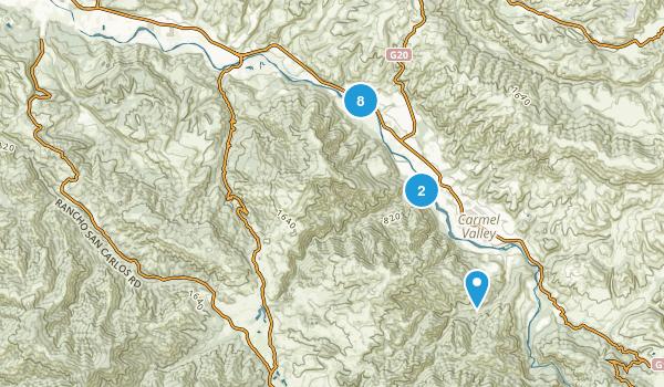 Best Trails in Garland Ranch Regional Park California AllTrails