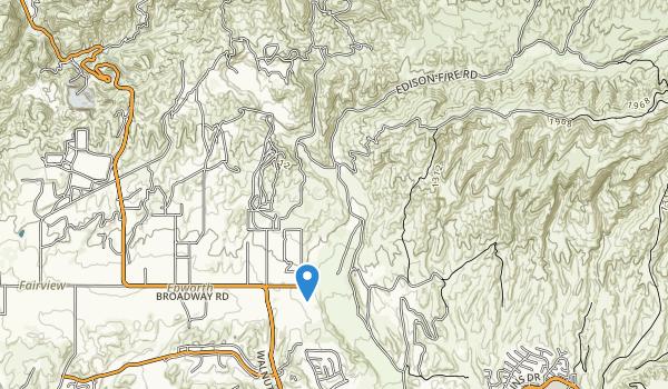 Happy Camp Canyon Regional Park Map