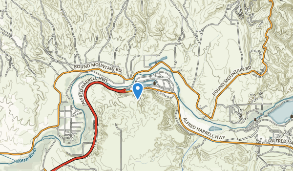 trail locations for Hart Memorial Unit