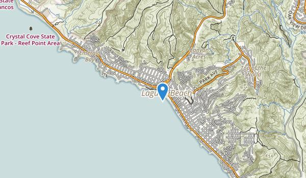 trail locations for Heisler Park