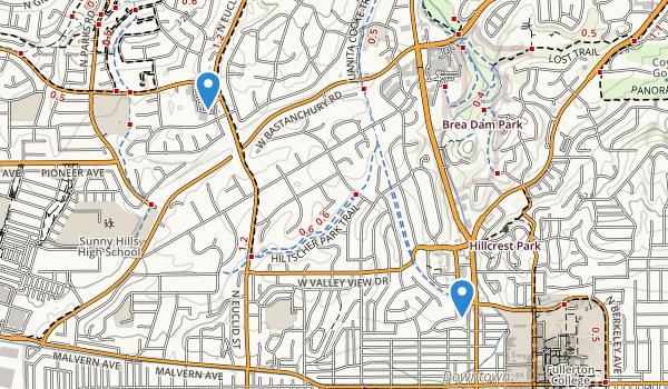 Hiltscher Park Map