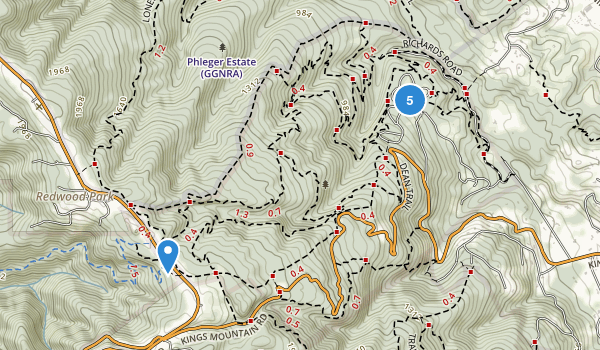 Huddart Park Map