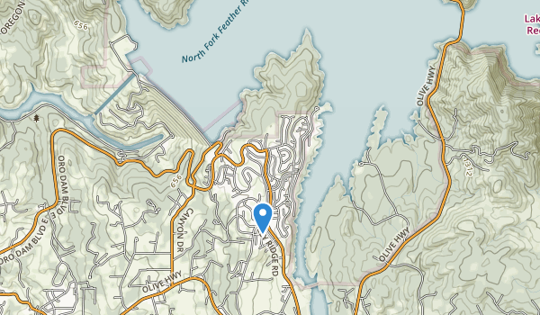 Kelly Ridge Recreation Area Map
