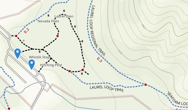 Kennedy Grove Regional Recreation Area Map