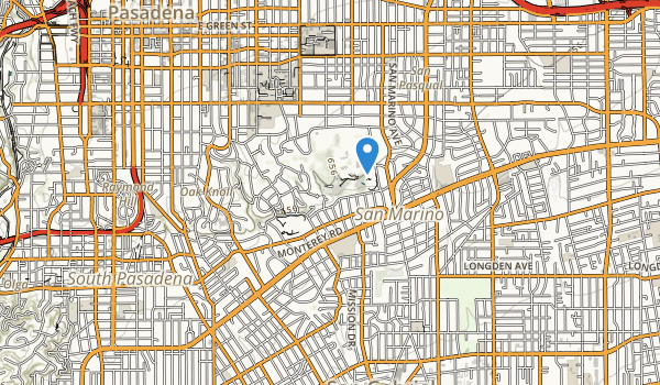 Lacy Park Map